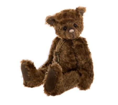 "Charlie Bears Secrect Collection Robert 14.5"" Plush Bear"