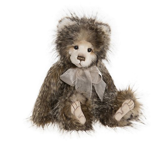 "Charlie Bears Collectable Rachel the Bear 19"" Plush Bear"