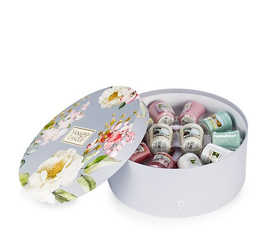 Yankee Candle 24 Piece Votive Collection with Hat Box
