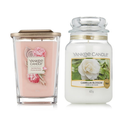 Yankee Candle 2 Piece Large Elevation & Apothocary Jars