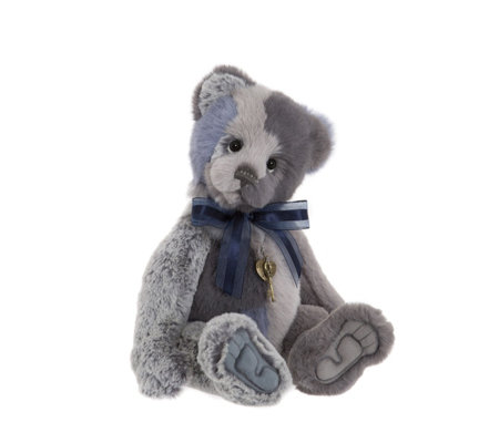 "Charlie Bears Collectable Hodgepodge 15"" Plush Bear"