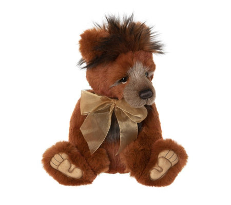 "Charlie Bears Collectable Brimble the Bear 16"" Plush Bear"