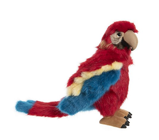 "Charlie Bears Collectable Mimic the Parrot 26"" Plush Bear"