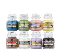 Yankee Candle Set of 8 Small Jars - 708245