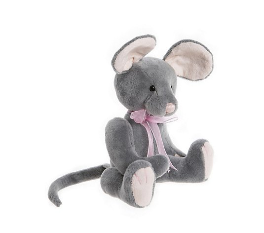 "Charlie Bears Collectable Mooch the Mouse 7"" Plush Bear"