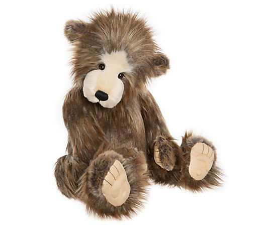 "Charlie Bears Collectable Chunky 28"" Plush Bear"