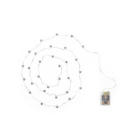 Home Reflections Set of 2 Wire Ball Light Strands