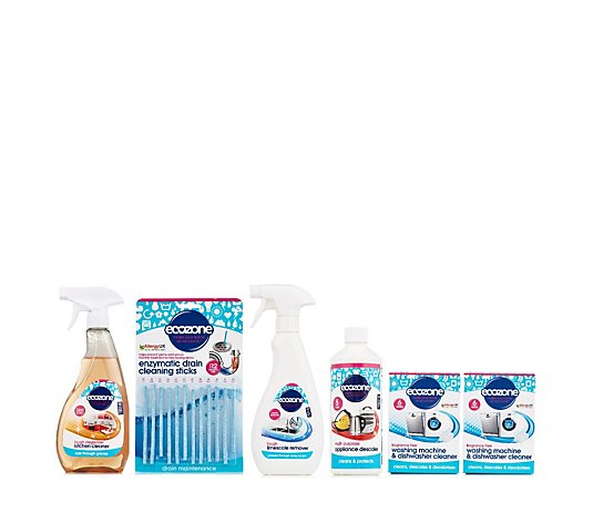 Ecozone 6 Piece Clean & Descale Kit