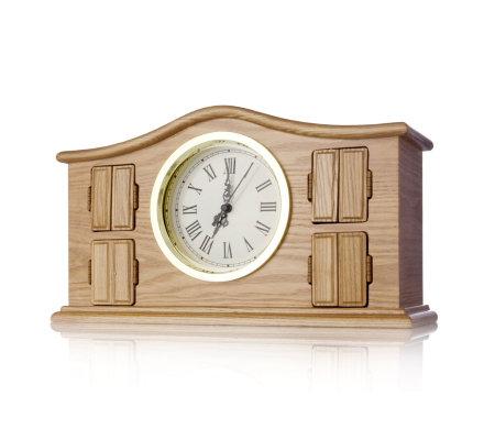 mr christmas symphony surprise musical mantle clock - Musical Christmas Clock