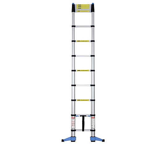 Outlet Buildcraft 3.2m Telescopic Ladder with Foldable Stabiliser Bar