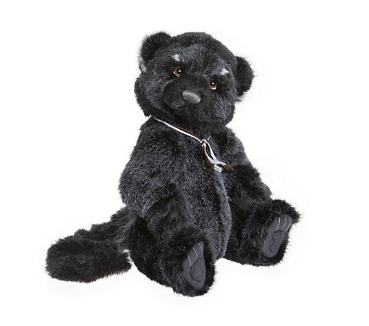 "Charlie Bears Collectable Rea the Binturong Bearcat 16.5"" Plush Bear"