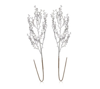 Alison Cork Set of 2 Glitter Branches - 706051