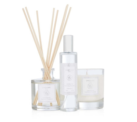 Sandy Bay 3 Piece Coconut Tropical Flowers Fragrance Set