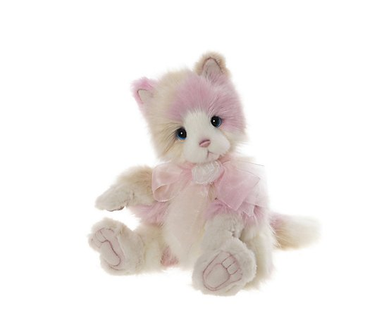"Charlie Bears Secret Collection Kitty Kat the Cat 12"" Plush Bear"