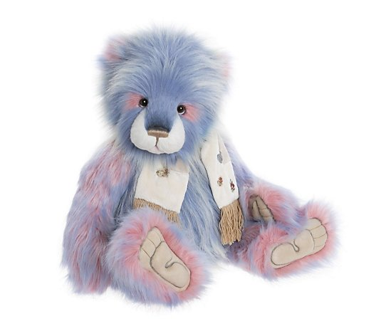 "Charlie Bears Helter Skelter 27"" Plush Bear"
