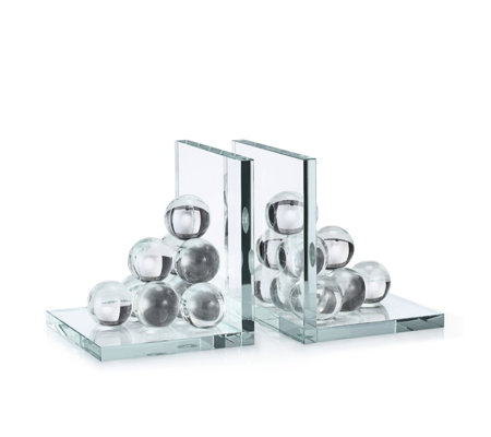 JM by Julien Macdonald Crystal Bookends with Gift Box