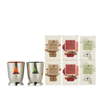 Price's Candles 36 Christmas Tea-lights & 2 Christmas Holders - 707857