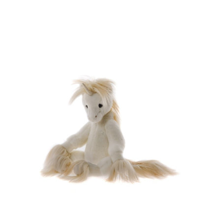 "Charlie Bears Alison Mills Limited Edition Oona 16"" Plush Unicorn"