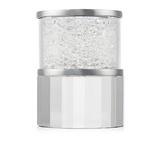 JM by Julien Macdonald Encapsulated Round Crystal Candle Holder