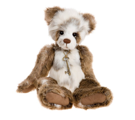 "Charlie Bears Susan the Panda 17"" Plush Bear"