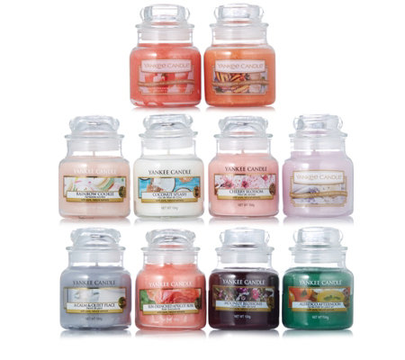 Yankee Candle Set of 10 Summer Scents Small Jars