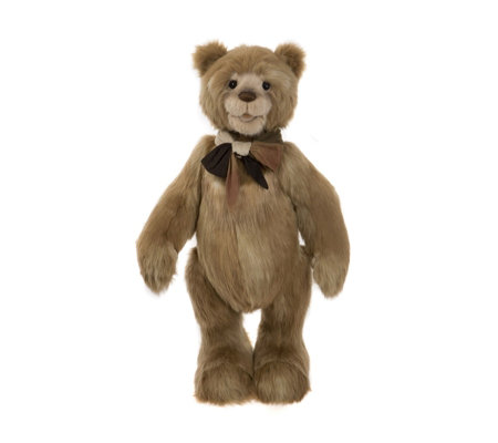 "Charlie Bears Collectable Lares 30""Plush Bear"