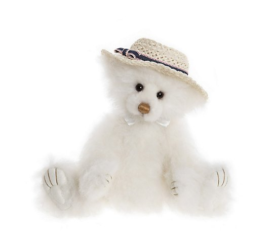 "Charlie Bears Collectable Miss Marple the Bear 11.5"" Plush Bear"