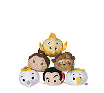 Disney Beauty and the Beast Set of 6 Tsum Tsums Collection - 707770