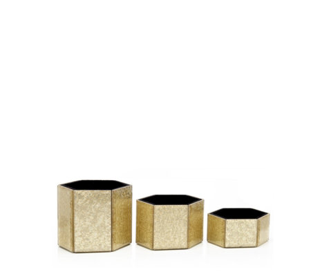 Alison Cork Set of 3 Dressing Table Tidy Pots