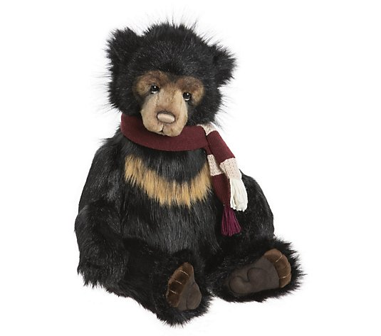 "Charlie Bears Collectable Father of the Forest the Bear 22"" Plush Bear"