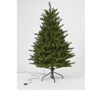 santas best 5ft fraiser fir christmas tree with 240 warm white lights 708574
