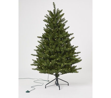 Santa's Best 5ft Fraiser Fir Christmas Tree With 240 Warm White Lights