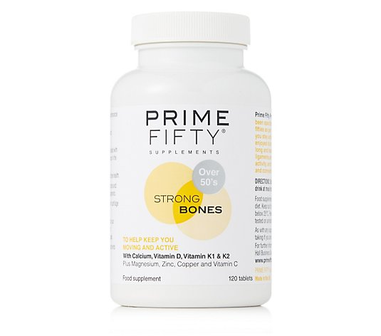 Prime Fifty Strong Bones 120 Days Supply