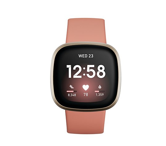 Fitbit Versa 3 Health and Fitness Smartwatch with GPS