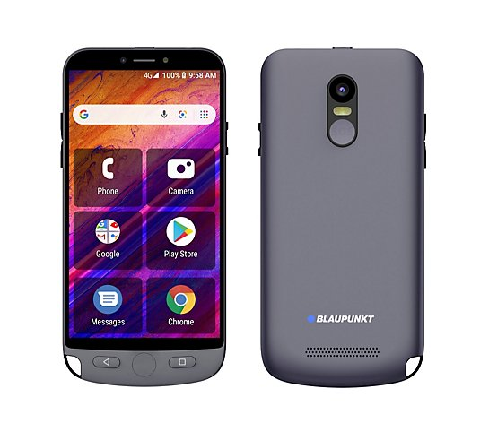 Blaupunkt 4G Guardian Android Mobile Phone with Cradle Charging Unit