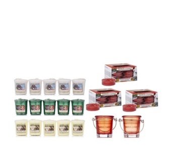 Yankee Candle 53 Piece Pure Essence Winter T-light & Votive Collection - 706881