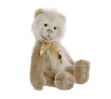 "Charlie Bears Secrect Collection Justine 15"" Plush Bear"