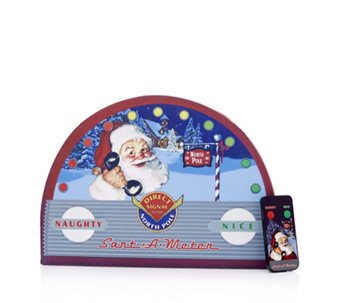 Mr Christmas Indoor Santa Meter with Remote Control - 706084