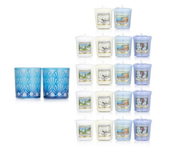 Yankee Candle Twilight Dusk Shell Holders with 18 Votives - 706785