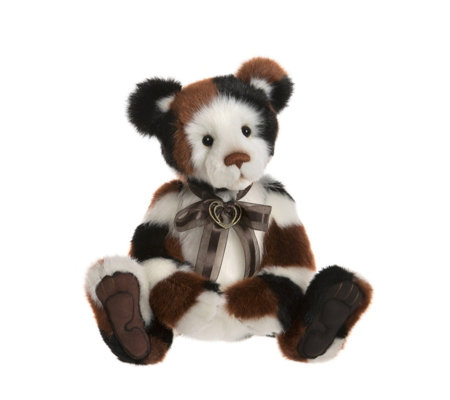 "Charlie Bears Secret Collection Riddles 16"" Plush Bear"