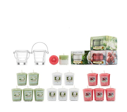 Yankee Candle 53 Piece Tealight & Votive Collection inc Votive Holders
