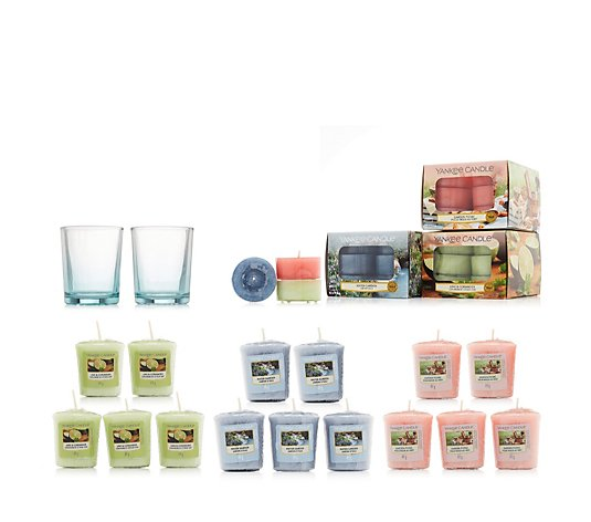 Yankee Candle 53 Piece Tealight & Votive Collection with Votive Holders