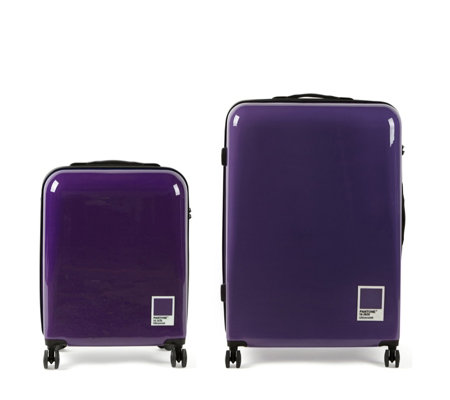 Redland & Pantone High Gloss Set with Large & Cabin Suitcases