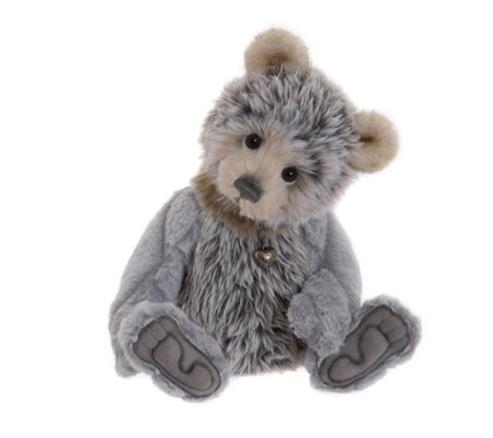 "Charlie Bears Collectable Miles 13.5"" Plush Bear"