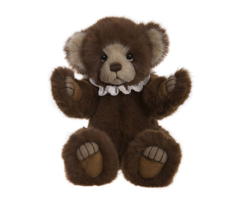 "Charlie Bears Collectable Lanson 11"" Plush Bear"