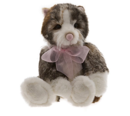 "Charlie Bears Collectable Adora 11"" Plush Bear"