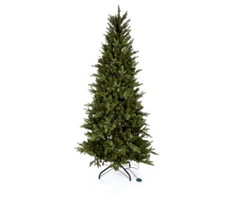 Santas Best Christmas Trees.Santa S Best Winter Wonder Spruce Christmas Tree Qvc Uk