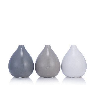K by Kelly Hoppen Set of 3 Round Vases - 706897