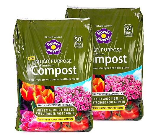 Richard Jackson Multi-Purpose Compost 2 x 50 Litres