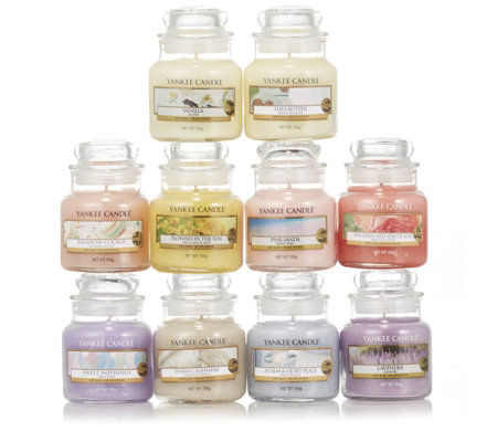 Yankee Candle Scents of Spring 10 Small Jars